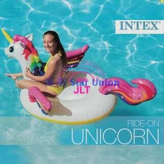 Intex Inflatable Ride On Unicorn Floater