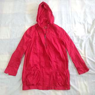 EDC Red Jacket Hoodie