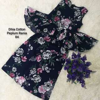 Cotton Peplum Rania