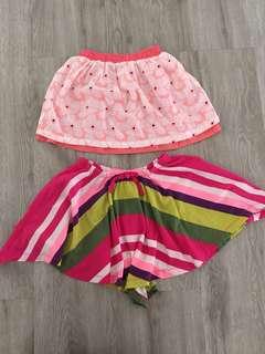 Pink Skirts Set