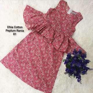 Cotton Peplum Rania