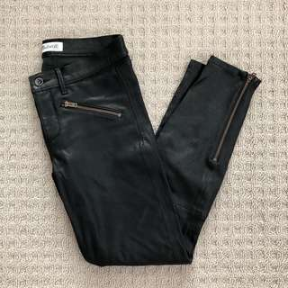 Madewell leather pants