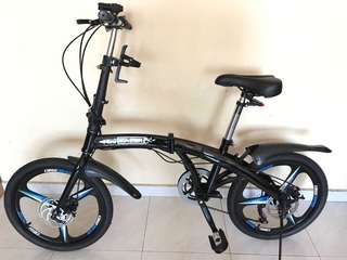 Foldable Bicycle x2