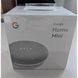 Google Home Mini Chalk Brand New Factory Sealed
