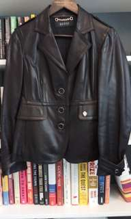 Gucci Leather Jacket -authentic