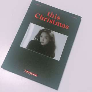 泰妍 Taeyeon This Christmas CD
