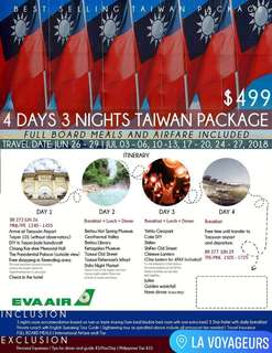 Taiwan Packages