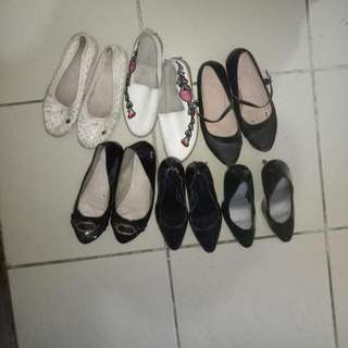Bundle shoes all fits 7 and 8