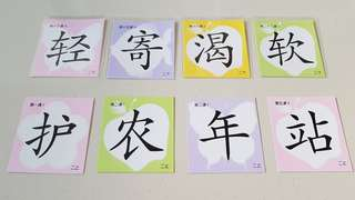 P2 Chinese Flash Cards (二上 / 二下)