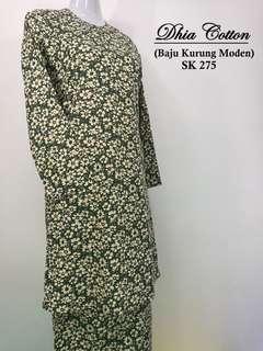 Baju Kurung Moden English Cotton