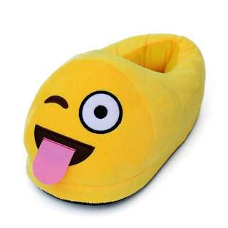 Emoji Cushion Indoor Slippers - (CrazyEmoji)