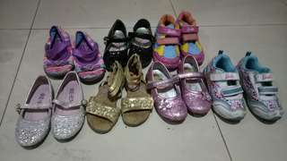 Dora and barbie shoes