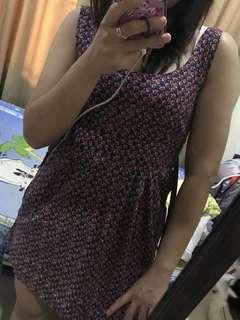 dress bunga kecil