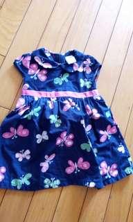 美國 女童 洋裝 6-12m