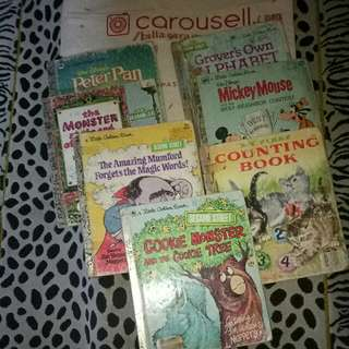 7 Buku Seri a Little Golden Book