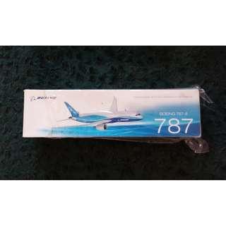 全新 BOEING 787-8 波音飛機模型