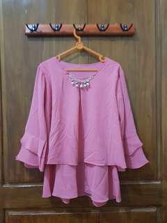 Aluna pink top