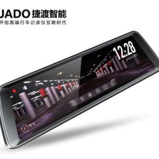 電子後照鏡 JADO 捷渡 行車紀錄器 倒車顯影 流媒體 行車記錄器  D820 小米 小蟻 mio papago