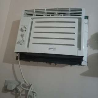 CARRIER OPTIMA 0.5 HP WINDOW TYPE AIRCON WITH TIMER