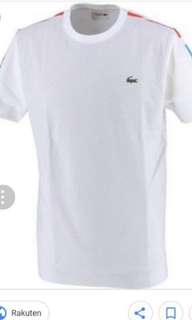Lacoste Mens Shirt Size Medium