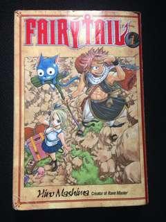 Fairy Tail Hiro Mashima Volume 1 English