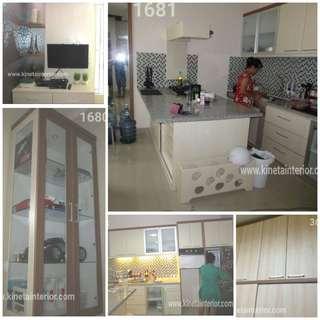 Kitchen set n furniture hpl n cat duco