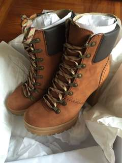 SeeByChloe' 小牛皮ankle boots