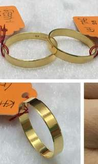 916 Solid Gold Ring
