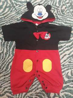 Preloved Mickey Mouse Costume