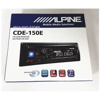 ALPINE HEAD UNIT CDE-150E