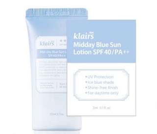 Klairs Midday Blue Sun Lotion