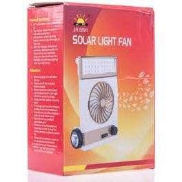 Solar Light Fan 💡