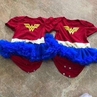 Wonder Woman Dress x2