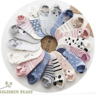 Cute and Trendy Animal Socks with Ears