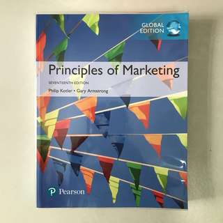 Pearson Principles of Marketing Seventeenth Edition