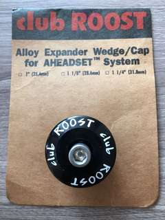 """Club Roost 'Wedge head' expander top cap assembly for 1 1/4"""" Retro Mtb"""