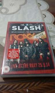 Dijual dvd original film konser slash (import)