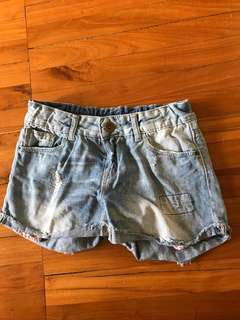 Zara short jeans for 9-10 years old