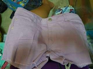 Purple Sexy summer Short