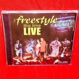 Freestyle-This Time Live (VCD)