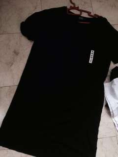 HiStyle Tshirt dress#20under