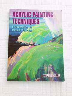 Acrylic Painting Techniques Book by Stephen Quiller