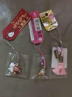 日本福袋Hello Kitty 吊飾