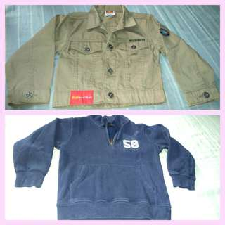 2pcs Boys Jacket (PRELOVED)