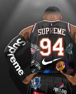 Nike x Supreme NBA Jersey Set