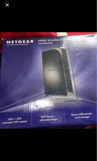Netgear N900 wireless router