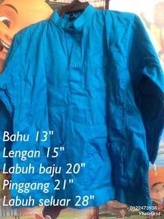 Preloved baju melayu biru #rayaletgo