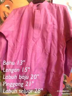 Preloved baju melayu purple #rayaletgo