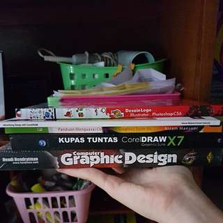 BUKU Graphic Design Adobe Photoshop dan Corel Draw