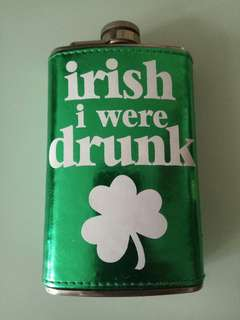 Irish wine bottle